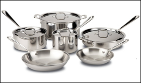 All-Clad Stainless Steel Cookware Set Review
