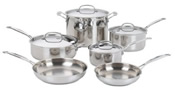 Cuisinart Chefs Classic Stainless Steel Cookware Set