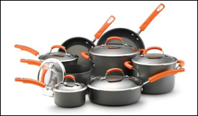 Rachael Ray Hard Anodized II Cookware