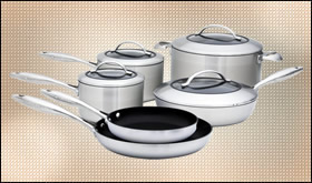Scanpan CTX Stainless Nonstick Cookware Set